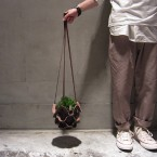 Mondoverde Leather Hanging Pot M5040yen