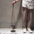 Mondoverde Leather Hanging Pot S3990yen