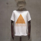White Mountaineering PRINT T-SHIRT MOUNTAIN9870yen