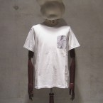 White Mountaineering GEOMETRIC PATTERN SWITCH POCKET T-SHIRT9870yen