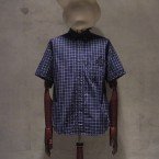 White Mountaineering Wardrobe OXFORD CHECK HALF SLEEVE SHIRT16800yen