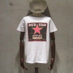 Niche USA Apple Brand Tee Redstar6615yen 