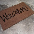 STUSSY Livin GENERAL STORE GS Welcome Mat5775yen
