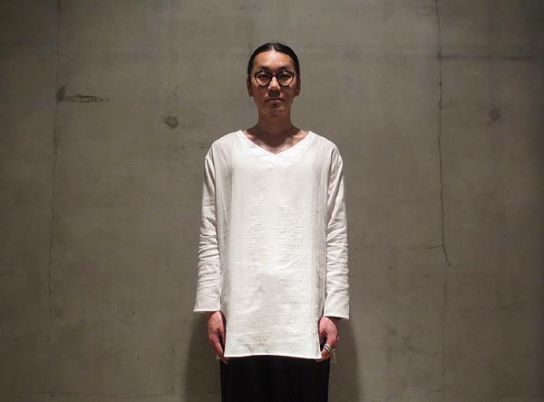 「the Sakaki」 theBang V L/S 織物 税抜き6500yen+税