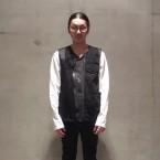 「FACETASM」 BQ-JK-M09/BLACK 税抜き45000yen+税