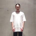 「SUNSEA」 Layered T/White 税抜き12000yen+税