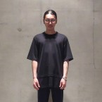 「SUNSEA」 Layered T/Black 税抜き12000yen+税