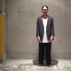 「the Sakaki」 居間着 丙/D.Brown 税抜き26000yen+税