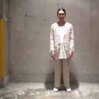 「the Sakaki」 居間着 丙/Natural 税抜き26000yen+税