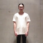「WHOWHAT」 WIDE TEE/IVORY 税抜き8000yen+税