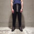 「SUNSEA」 Dry Cotton Pants/Navy 税抜き32000yen+税