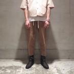 「SUNSEA」 Dry Cotton Pants/Camel 税抜き32000yen+税