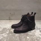 「SUNSEA」 3ways Suede Boots/Oiled BK Suede 税抜き63000yen+税