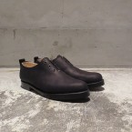「SUNSEA」 Oiled Suede One-Piece Shoes/Oiled BK Suede 税抜き58000yen+税