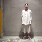 「the Sakaki」 Shirts/L.Grey 税抜き22000yen+税