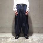 「Sasquatchfabrix.」 BALLOON DENIM PANTS/INDIGO 税抜き32000yen+税