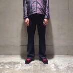 「NEEDLES」 Side Strap Boot-Cut Trouser Poly Serge/Navy 税抜き20000yen+税