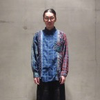 「Rebuild by needles」 7 Cuts Flannel Shirt/Indigo 税抜き18000yen+税