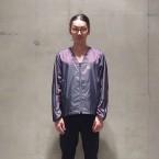 「NEEDLES Sportwear」 Warm-up V-Neck Jac/Purple 税抜き22000yen+税