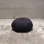 「FUKAMI」 Brim Less Newsboy Cap/BLACK 税抜き8900yen+税