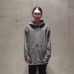 「Authentic Pigment」 Garment-dyed Hoodie/BLACK 税抜き10800yen+税