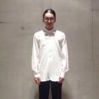 「NEEDLES」 Regular Collar EDW Shirt Cotton Dungaree/White 税抜き17000yen+税