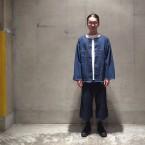 「Sasquatchfabrix.」 DENIM BIG SHIRTS 3rd TYPE/INDIGO 税抜き30000yen+税