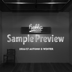 NEEDLES 2016/17 Autumn & Winter Collection Sample Preview