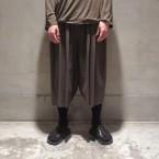 「Sasquatchfabrix.」 ORIENTAL RAP PANTS/KAHKI 税抜き36000yen+税