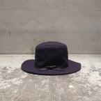 「NEEDLES」 Outback Hat Heavy Melton/Purple 税抜き13000yen+税