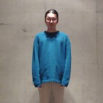 「crepuscule」 moss stitch P/O Blue 税抜き16000yen+税