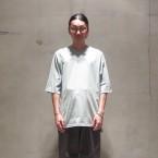 「SUNSEA」 Cut Off Raglan Sleeve T/Ceradon 税抜き10000yen+税