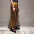 「NEEDLES」 Fringe Cowboy String Pant/Gold 税抜き28000yen+税