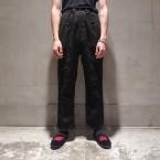 「NEEDLES」 String Military Pant T/R Stripe Twill/Charcoal 税抜き20000yen+税