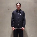 「MOUNTAIN RESEARCH」 Coach Jacket/NAVY FRONT 税抜き52000yen+税
