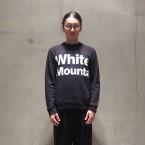 「White Mountaineering」 PRINTED LOGO SWEATSHIRT/BLACK 税抜き18000yen+税