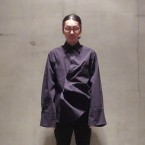 「WHOWHAT」 AFTER PARTY SHIRT/BLACK 税抜き35000yen+税