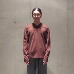 「SUNSEA」 Customized LONG T/Brown 税抜き12000yen+税