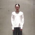 「SUNSEA」 Customized LONG T/White 税抜き12000yen+税