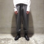 「SUNSEA」 Osmo Wool Straight Pants/Gray 税抜き37000yen+税