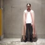 「SUNSEA」 Girl with a Pearl Earring/Beige×Red 税抜き35000yen+税
