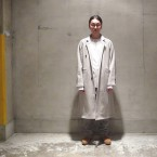 「SUNSEA」 Cotton Mouton Coat(C.M.C)/Ash Gray 税抜き60000yen+税
