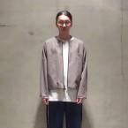 「SUNSEA」 Osmo Wool×Gun-club Check Reversible Blouson/表面 税抜き70000yen+税