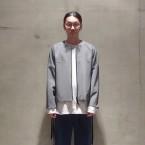 「SUNSEA」 Osmo Wool×Gun-club Check Reversible Blouson/裏面 税抜き70000yen+税